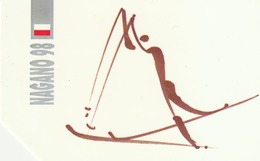 POLONIA. Juegos Olimpicos. Nagano 98. Country Skiing. 451. (060) - Olympische Spelen