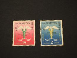 PAKISTAN - 1960 MEDICAL 2 VALORI - NUOVI(++) - Pakistan