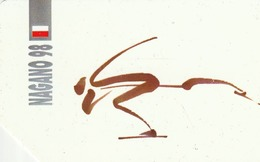 POLONIA. Juegos Olimpicos. Nagano 98. Speed Skating. 452. (061) - Olympische Spelen