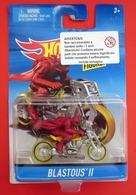 HOT WHEELS BLASTOUS II MOTO NEW BLISTER - HotWheels