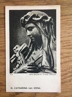 H. Catharina Van Siena, Artus Quellien Sr., Angelico, O.P., Leuven - Devotieprenten