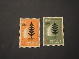 NORFOLK - 1964 ALBERO  2  VALORI. - NUOVI(++) - Isola Norfolk