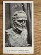 S. Alfonsus, Doctor Zelantissimus, Nijmegen - Devotieprenten