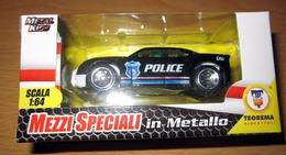 POLICE CAR METAL TEOREMA MEZZI SPECIALI  NEW BOX - Cars & 4-wheels