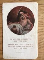 Volksretraites 1921, H. Hart Van Jezus Te 's-Gravenhage, Eerw. Paters Caucijnen Eubesius En Richardus - Devotieprenten