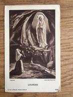 Lourdes, 30ste Ziekentriduum, H.H. Engelbewaarders 's-Gravenhage 1958 - Devotieprenten