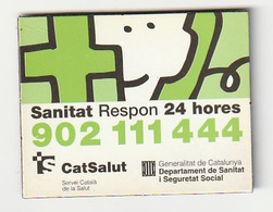 MAGNET - SANITAT RESPON 24 HORES - CATSALUT GENERALITAT DE CATALUNYA - Magneti