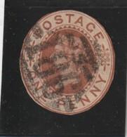 ANGLETERRE -  - N°  Entier Postal  Découpé - Usados