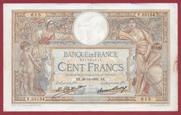 "100 Francs ""Luc Olivier Merson"" Du 26/11/1931.BX ---F/TTB+---ALPH .F.33154 - 1871-1952 Antiguos Francos Circulantes En El XX Siglo"