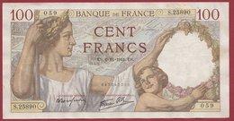 "100 Francs ""Sully"" Du 06/11/1941.US ---F/TTB+---ALPH .S.25890 - 1871-1952 Anciens Francs Circulés Au XXème"
