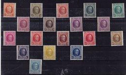 PETIT LOT HOUYOUX 190 / 207  MNH** Départ 4,90 - 1922-1927 Houyoux