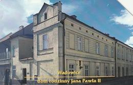 POLONIA. Family House Of Pope John Paul II - Wadowice. 25U. 716. (087) - Polonia