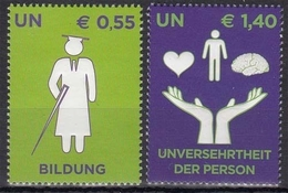 UNO Wien 543/44 ** Übereinkommen über Die Rechte Von Menschen Mit Behinderungen - Sonstige - Europa