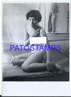 118835 REAL PHOTO SENSUAL WOMAN NUDE ARTISTIC NO POSTAL POSTCARD - Fotografie
