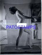 118844 REAL PHOTO SENSUAL WOMAN EROTIC NUDE ARTISTIC NO POSTAL POSTCARD - Fotografie