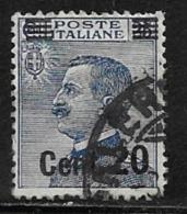Italy Scott # 151 Used Victor Emmanuel Surcharged, 1925 - 1900-44 Vittorio Emanuele III