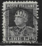 Italy Scott # 194 Used Victor Emmanuel, 1927 - 1900-44 Vittorio Emanuele III