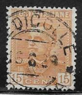 Italy Scott # 198 Used Victor Emmanuel, 1929 - 1900-44 Vittorio Emanuele III