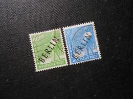 Berlin (West)  Mi4a/8a - 10/20Pf - 1948 - MI 10,80 € - Berlin (West)
