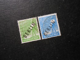 Berlin (West)  Mi4a/8a - 10/20Pf - 1948 - MI 10,80 € - Gebruikt