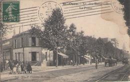 CPA 93 Seine Saint Denis - St OUEN - Avenue Des Batignolles - La Poste - Saint Ouen