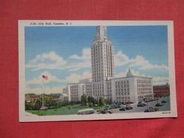 City Hall   Camden  New Jersey >   Ref    3583 - Camden