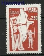 Brazil 1958 Mi 945 MNH ( ZS3 BRZ945 ) - Tiro Al Arco