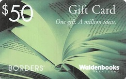 Borders / Waldenbooks Gift Card - Gift Cards