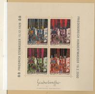 Österreich 2000  Hundertwasser MiNr.: Bl15 Postfrisch; Austria MNH - 1945-.... 2nd Republic