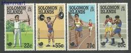 Solomon Islands 1988 Mi 687-690 MNH ( ZS7 SLI687-690 ) - Tiro Al Arco