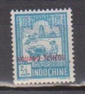KOUANG TCHEOU          N°  YVERT  :     75     NEUF AVEC  CHARNIERES      ( 02/38   ) - Unused Stamps