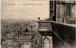 51dm 936 CPA - STRASBOURG - VUE PRISE DE LA PLATEFORME DE LA CATHEDRALE - Strasbourg