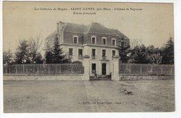 33 - Les Châteaux Du Blayais - SAINT-GENÈS, Près BLAYE - Château De Segonzac - Entrée Principale (R169) - Blaye