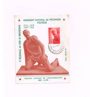 Monument National Au Prisonnier Politique. - Maximumkarten (MC)