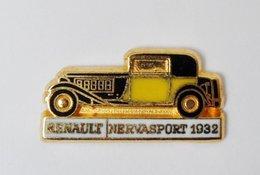 Pin's Voiture RENAULT Nervasport 1932 CEF- WWO - Pin's