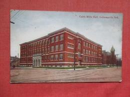 Caleb Mills Hall  Indiana > Indianapolis  Ref    3584 - Indianapolis