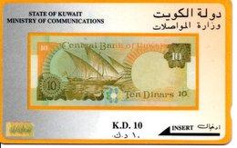 Timbre Stamp Télécarte Kuwait Phonecard  Karte (G 182) - Timbres & Monnaies
