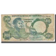 Billet, Nigéria, 20 Naira, KM:26b, TB - Nigeria