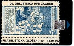 Télécarte Croatie Timbre Stamp Phonecard  Karte (G 184) - Francobolli & Monete