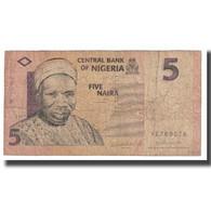 Billet, Nigéria, 5 Naira, KM:32a, TB - Nigeria