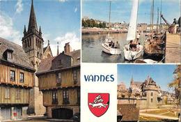 VANNES - Les Vieux Quartiers, Les Remparts Et Le Port - JOS MX 5200 - Vannes
