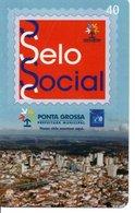 Timbre Stamp Télécarte Brésil Phonecard  Karte (G 185) - Timbres & Monnaies