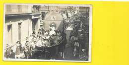 ARLES Carte Photo La Reine  Sur Son Char Carnaval (George) Bouches Du Rhône (13) - Arles