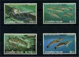 THAILAND 1976 Nr 799-802 Postfrisch (110771) - Umweltschutz Und Klima