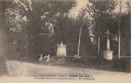 VIC Sur AISNE  Tombeau élevé à La Mémoire Du X...è Rgt D'Artillerie - Vic Sur Aisne