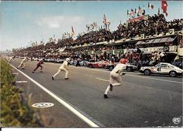 72 LE MANS . LES 24 HEURES Du MANS . LE DEPART - Le Mans