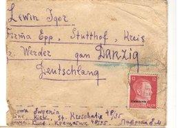 21547 - Avec Surcharge UKRAINE - Allemagne