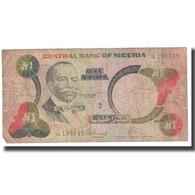 Billet, Nigéria, 1 Naira, KM:23a, TB - Nigeria