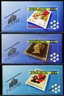 DA1377 Rwanda 1990 Postal Ticket In The Ticket Black Penny And Other 3M MNH - Rwanda