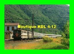 RU CA 03 - Train - Loco BB 9447 En Gare De MONTPAON - Aveyron - SNCF - France